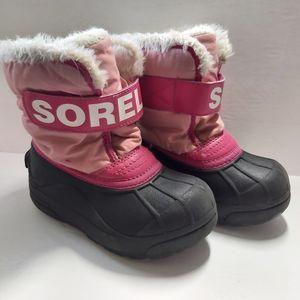 SOREL Snow Commander Toddler Winter Boots